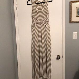 Gorgeous max studio striped cotton sundress